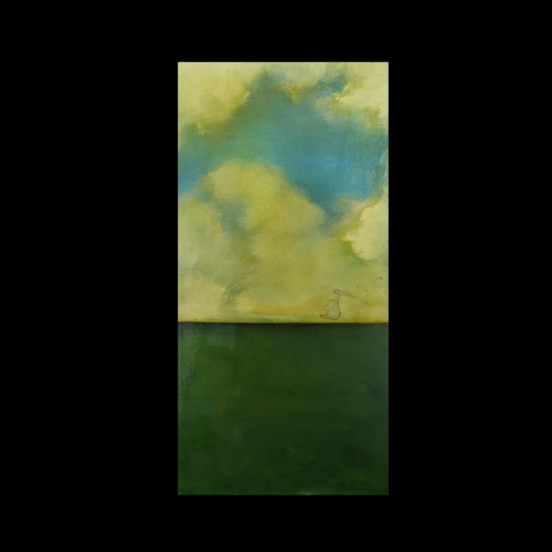 Clouds and the Sea painting by Sam Roloff