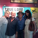 Sam Roloff, Buzz Siler, Sandy Siler and Tracy Blom at people's gallery portland