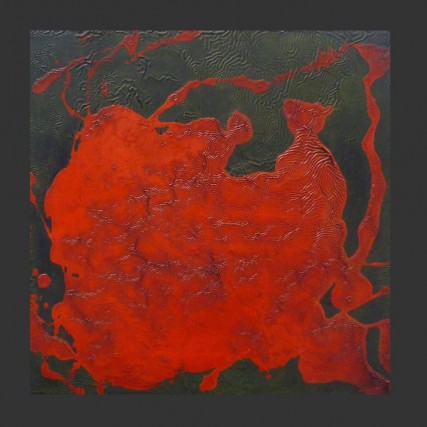 Tasting Tiger's Blood 3111 #samroloff oil on wood 12x12 inches