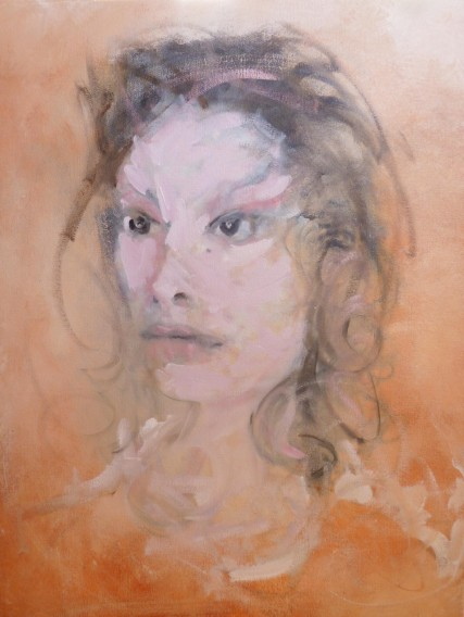 Carlotta 3234 Oil on Canvas Sam Roloff 18x24 inches 2012